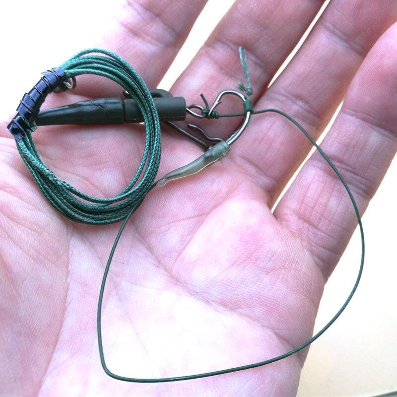 1 компл/упак для рыбалки на карпа буровые установки волос готов