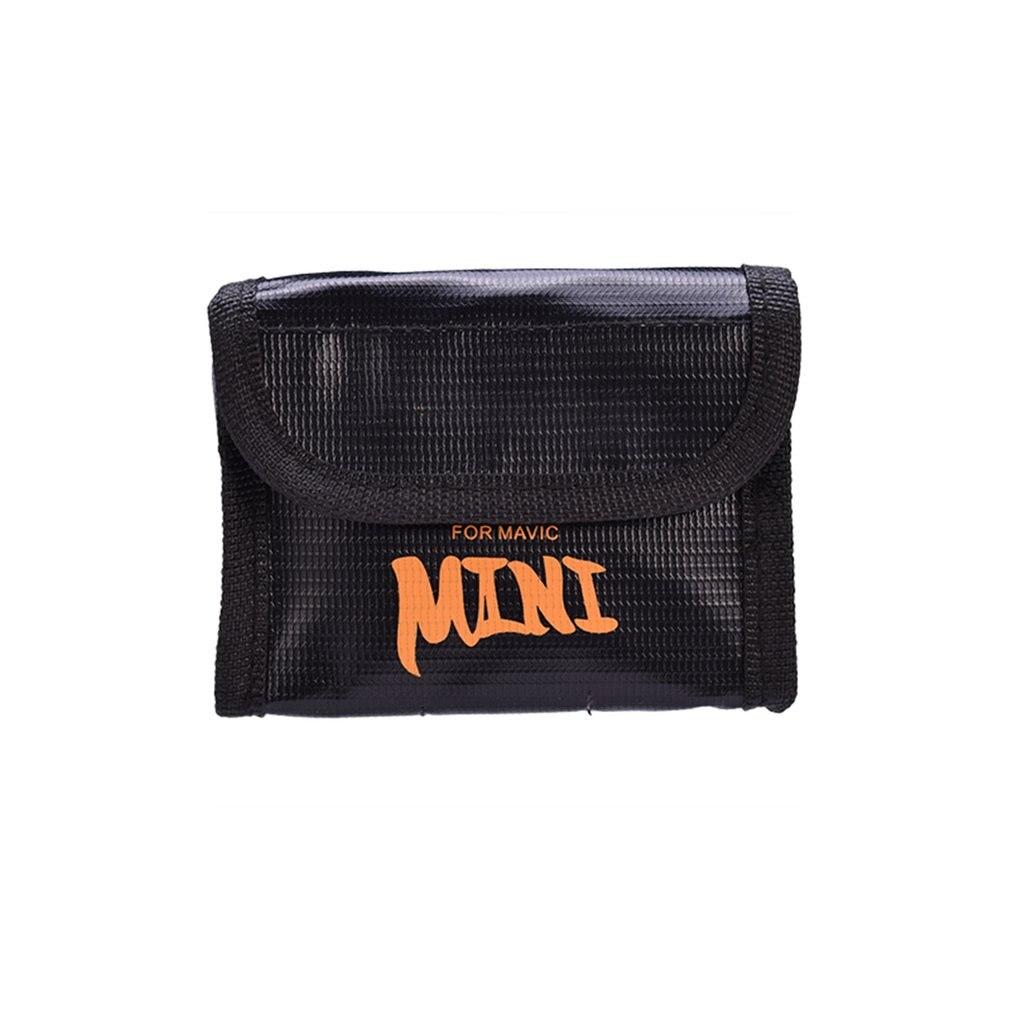 For DJI Mavic Mini Battery Explosion-proof Bag Sunnylife Tray Battery Bag For DJI Mavic Lithium Battery Charging Safety Bag