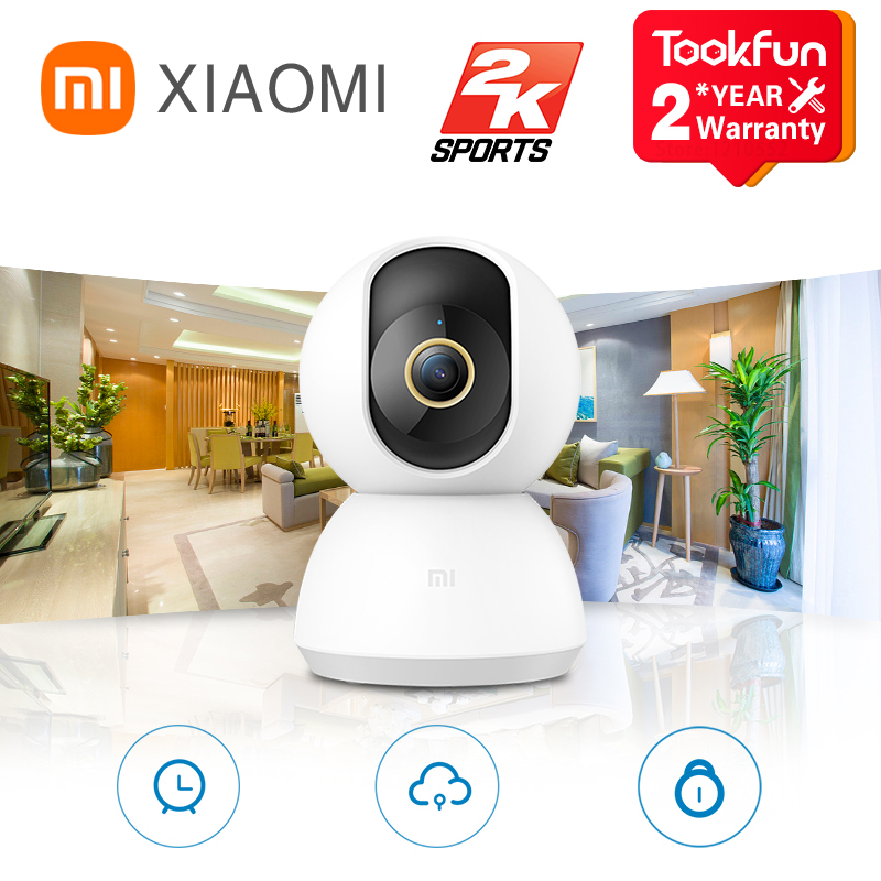 Global Version Xiaomi 360° Home Security Camera 2K AI Humanoid Detection 3 Million Pixels Infrared Night Vision Web Video Camera