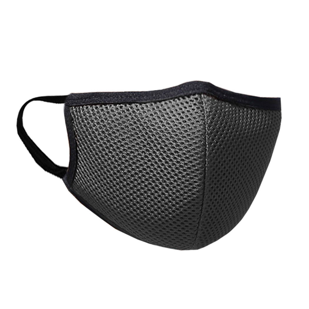 Breathable Mouth Mask Unisex Solid Color Anti Dust Mouth Cover Facial Mouth Mask For Outdoor Cycling Clothing Accessories