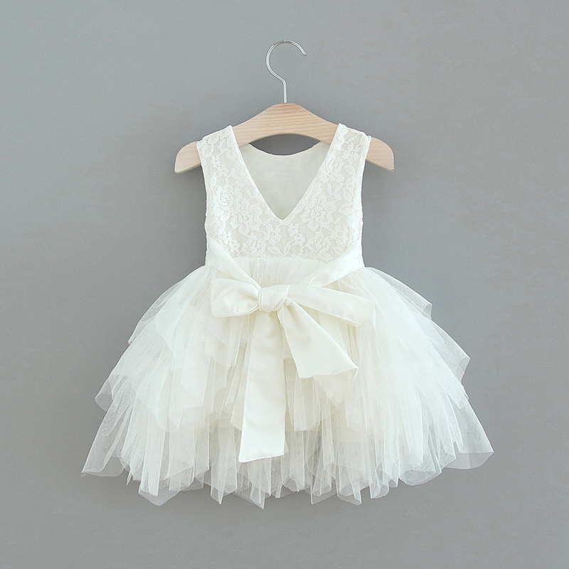 119-6-Lace Tulle Girls Dress