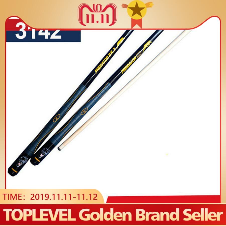 PREOAIDR 3142 High Quality Billiard Pool Cue 13mm Tip 1/2 Stick Kit Durable Professional China BK2/BKS Type