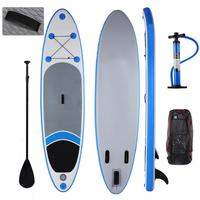 10ft Inflatable Surfboard Stand Up Paddle Board iSUP Double wall Surfing Wakeboard Surf Bodyboard Sup Board with Paddle Backpack