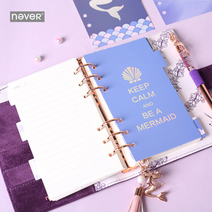 Image 3 - Never Mermaid Series A6 Journals and Notebooks Spiral Planner Organizer Diary Book Set Ofice and School Supplies Gift Stationery