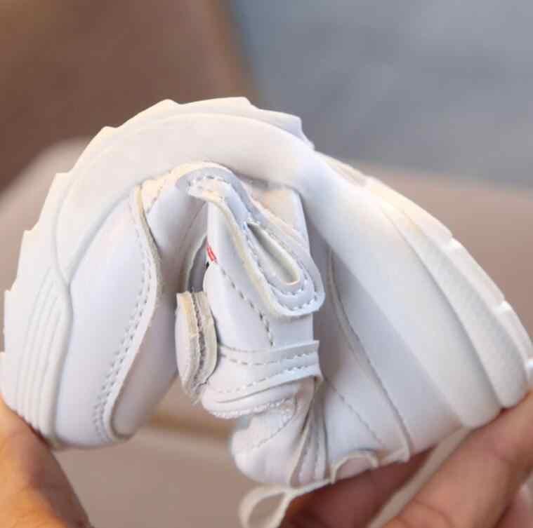 Trẻ Em Giày Mùa Xuân Thời Trang Thu Đông Bé Gái Bé Trai Giày Thể Thao Trẻ Em Chạy Bộ Trẻ Em Giày Bốt Martin Trẻ Giày 21- 30
