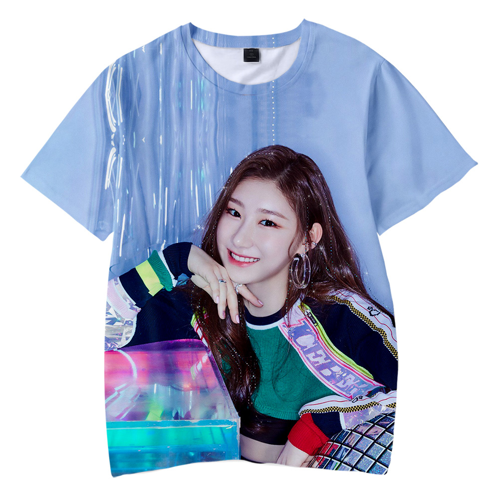 Us 8 61 37 Off Kpop Itzy Dalla Dalla Yeji Lia Ryujin Chaeryeong Yuna 3d Print Children S Wear Boy Girl Kids Short Sleeve T Shirt Clothes In T Shirts