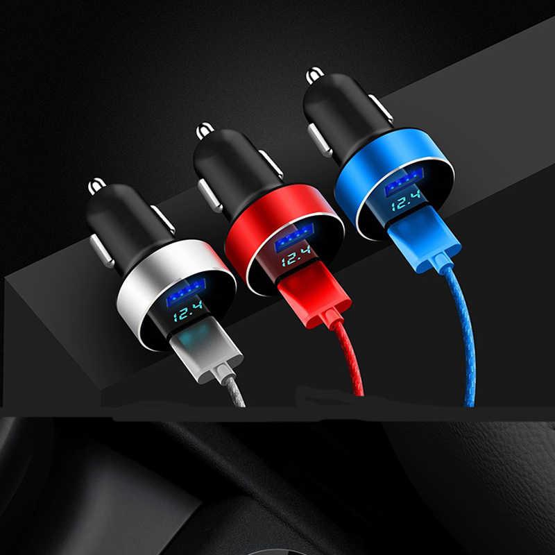 المزدوج USB 3.1A العالمي شاحن سيارة LED عرض لأوبل أسترا فوكسهول موكا زافيرا شارة فيكترا انتارا