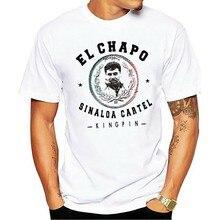 Camisa de t nova tendência el chapo novo cartel de drogas pablo escobar sicario hitman gangster narco mob