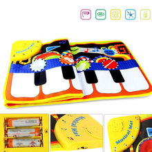 Soft Folding Baby Music Blanket Children Game Carpet Mat Infant Kids Touch Play Game Piano Mats Children Educational Musical Toy