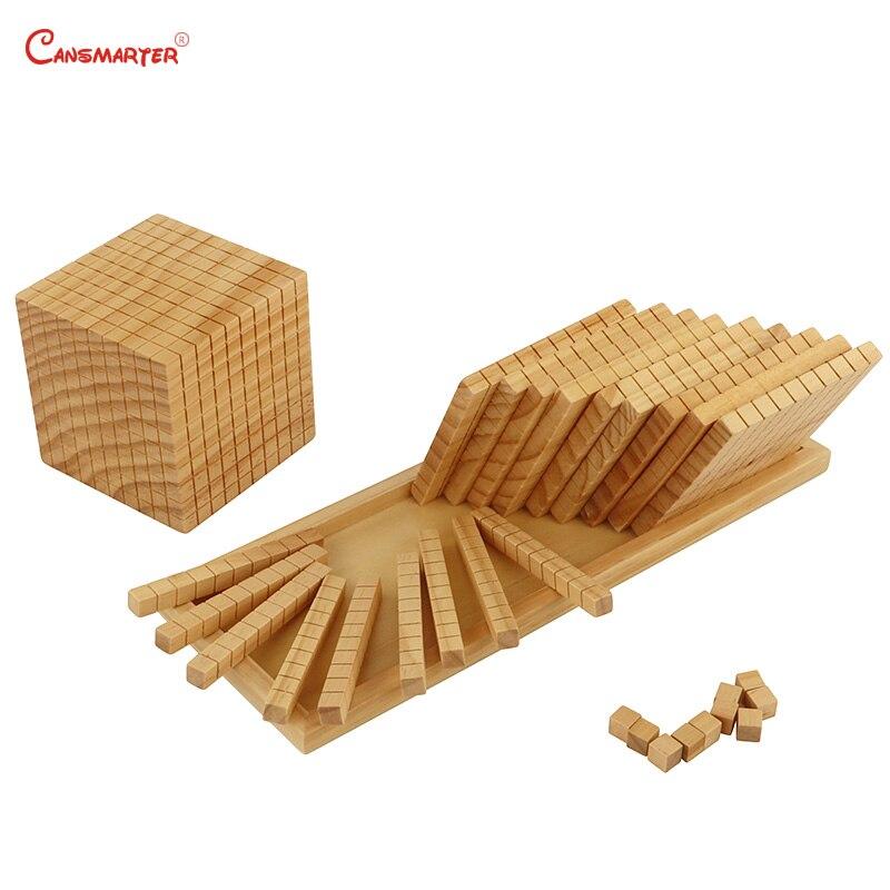 Juguetes de matemáticas diez bases, caja de madera Montessori profesional Montessori, juguetes educativos para estudiantes, juguetes para niños MA085 - 5