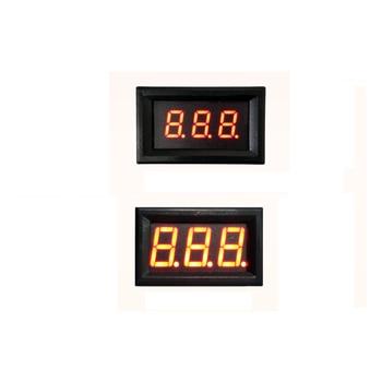 Taidacent RS485 TTL Digital Voltmeter LED 3 / 4 Digit Display PLC Communication MODBUS Voltmeter Micro Panel Mount 0.36 Digits rs485 factory workshop production line display led digital tube screen plc communications modbus custom