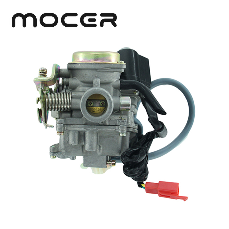 <font><b>GY6</b></font> <font><b>50cc</b></font> 60cc 80cc Scooter <font><b>Carburetor</b></font> Carb 4 Stroke Moped ATV HK-146 image