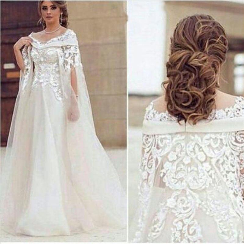 Real Photos Arabic Long Formal Gowns Elegant Haf Sleeves Off The Shoulder Vestido De Festa White Evening Mother Of Bride Dresses
