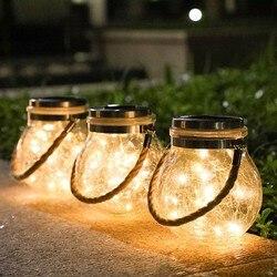 LED solaire extérieur étanche suspendus lumières cour paysage souhaitant lampe Led ciel étoilé projecteur lampe étoile lumière