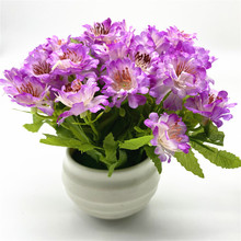 Artificial Bonsai Potted Simulation Small Flowers DIY Home Garden Table Decoration Plant Gifts home decoration fruit simulation bonsai simulation decoration artificial flowers fake green potted plant decorations c