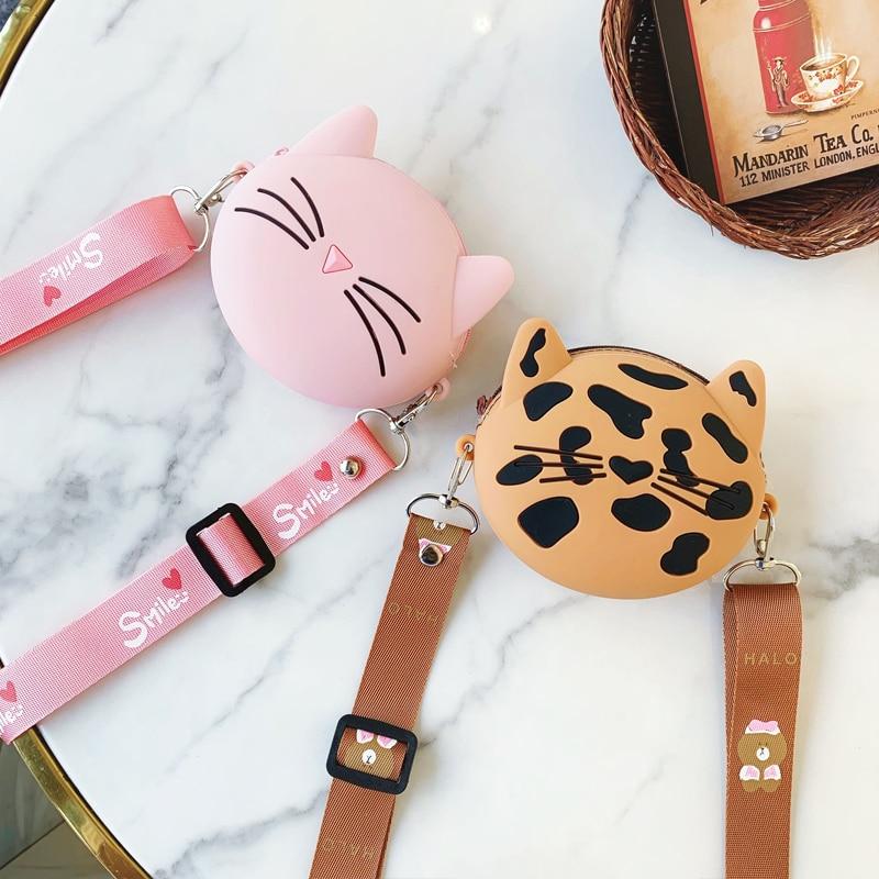 Fashion Zipper Circle Purse Clutch Odd Doll Pet Cute Creative Animation Round Shoulder Cross-body Bag Tote Handbag Canvas Messenger Purse Wallet