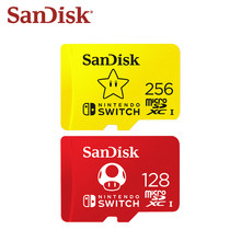 SanDisk – carte Micro SD U3, 256 go/128 go, Ultra HD, TF, 4K, pour Nintendo Switch, carte mémoire Flash, originale