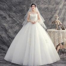 Wedding-Dresses Bride-Dream Plus-Size Embroidery Sexy Lace-Up No Vestidos-De-Novia