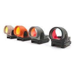 SOTAC-GEAR Mini Rmr SRO Red Dot Lingkup Penampakan Airsoft/Berburu Reflex Sight Cocok 20 Mm Penenun Rel untuk Collimator glock/Senapan
