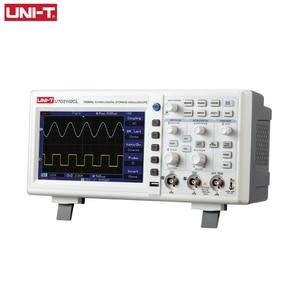Image 1 - ملتقط الذبذبات الرقمي UNI T UTD2102CL المحمولة 100MHz 2 قنوات 500 عينات عملاقة/ثانية USB راسم الذبذبات Ociloscopio autootivo Portatil