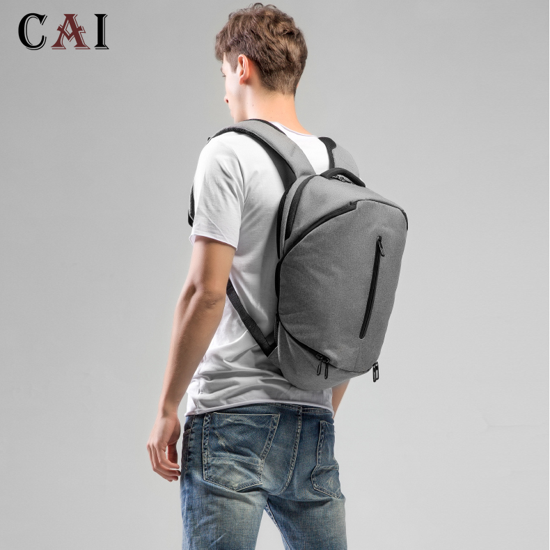 Fashion Laptop Waterproof 14 Inch Laptop Backpack 2019 New Women Men Backpacks Travel Backpack Bag Multifunction Bookbag Mochila