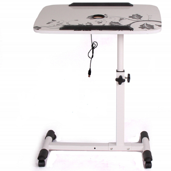 Patient Table Movable Bedside Table Bed Bed Old Man Eating and Lifting Table Yard Nursing Home Nursing Table Folding