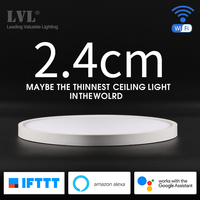 Modern LED Smart Ceiling Light Home Lighing WiFi App AI Voice Control Ultrathin Fast Installation Surface Mounting Ceiling Lamp
