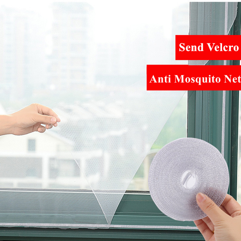 New Indoor Insect Fly Mosquito Window Screen Curtain Mosquito Netting Door Anti Mosquito Net For Kitchen Window Home Protector