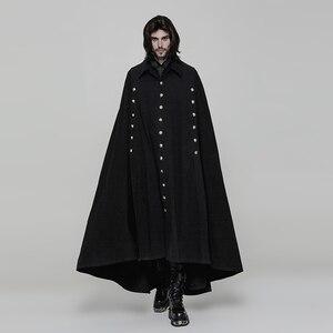 M-4XL осеннее и зимнее Европейское и американское корейское мужское шерстяное пальто-накидка, мужская летучая мышь, новое шерстяное Трендово...