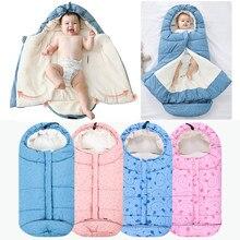 Bébé poussette sac de couchage hiver sommeil sac enveloppe extérieure étanche Anti-coup de pied nid de couchage voyage sac de couchage pour les enfants