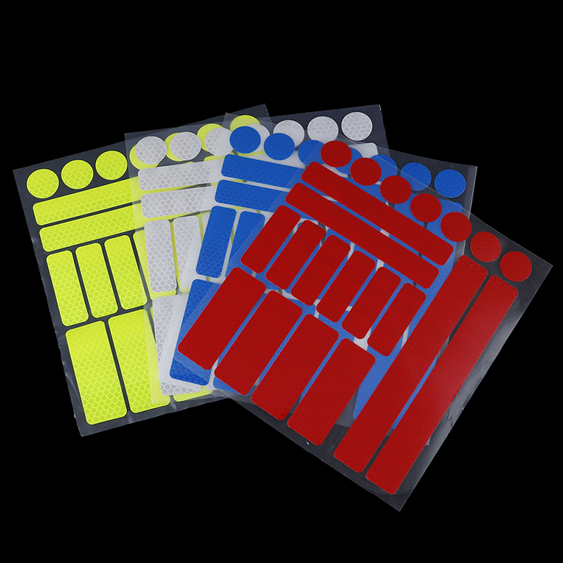 Reflective Stickers For Bicycle Adhesive Tape For Bike Safety Bike Accessories
