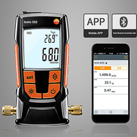 Testo 552 Digital Vacuum Gauge Pressure Tester Meter Electronic Testing Refrigeration Heat Pump Systems Measuring Instrument