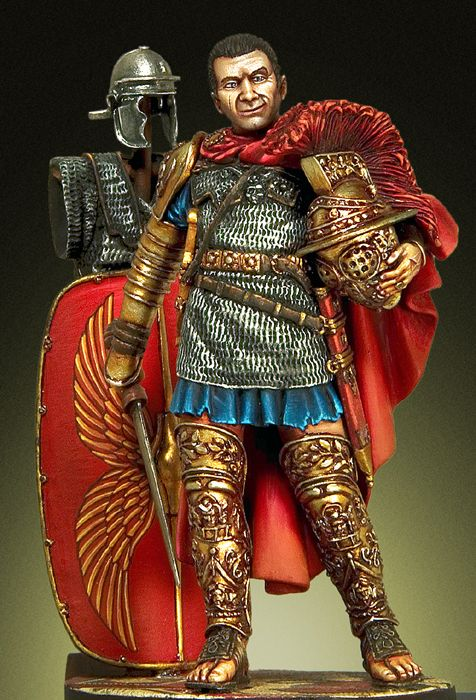 54mm Ancient Knight Stand (with Base )     Resin Figure Model Kits Miniature Gk Unassembly Unpainted