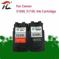 YLC PG 510XL CL 511XL PG510 Cartouche D'encre pour Canon MP240 MP250 MP260 MP280 MP480 MP490 IP2700 MP499 imprimante PG 510 CL 511 pg510