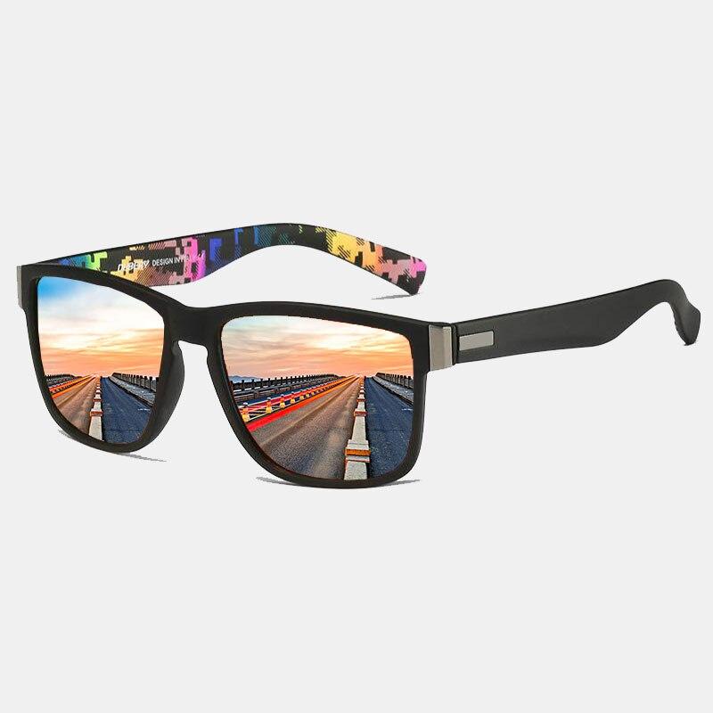 Fashion Polarized Sunglasses Men Driving/Sports Sunglasses Men/Women Anti-Reflective Black Shades Male/Female EyeWear