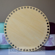 Round10pcs Circle wood base