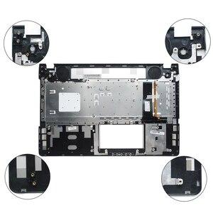 Image 4 - Nouveau nouveau clavier dordinateur portable lunette pour ASUS N56 N56V N56VM N56VZ N56SL argent Topcase Palmrest boîtier supérieur C coque rétro éclairage