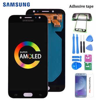 Amoled Original para Samsung Galaxy J7 Pro 2017 J730 J730F pantalla LCD y montaje de digitalizador de pantalla táctil J730F J730GM J730G