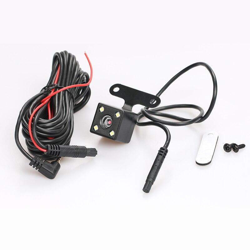 Caméra de recul de voiture de caméra de vue arrière de 5pin 4led caméra de stationnement automatique grand Angle de 135 degrés reliant la came de tableau de bord