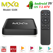MXQ CUBE S10X ATV Smart Android 7.1 TV Box Amlogic S905X Voi
