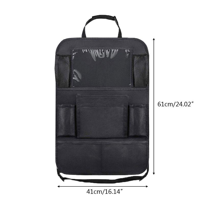 Водонепроницаемый ящик для мелочей автомобиля сумка автомобильное сиденье Черная защитная крышка для детей Детский кик-мат защитный мешок