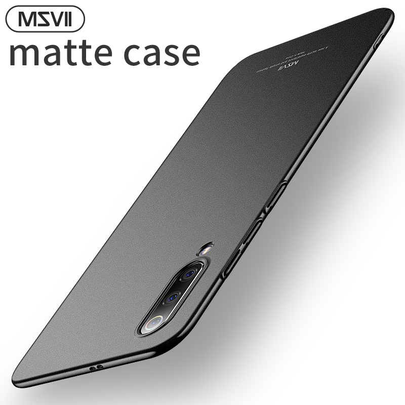 Msvii Ultra Thin Case For <font><b>Xiaomi</b></font> Mi9 Mi8 Sandy Matte Frosted Cover Back For <font><b>Mi</b></font> <font><b>9</b></font> <font><b>SE</b></font> <font><b>Mi</b></font> 8 Lite Pro Full Protection Fundas <font><b>Capa</b></font> image