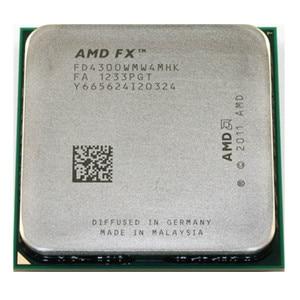 AMD FX Series FX4300 3.8GHz Quad-Core CPU Processor FX 4300 FD4300WMW4MHK 95W Socket AM3+