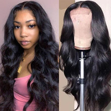 Onda do corpo peruca 4x4 fechamento do laço peruca ali annabelle onda do corpo perucas de cabelo humano natural 150 180 densidade cabelo humano brasileiro peruca do laço