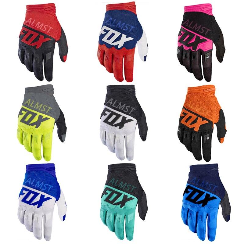 2021, мотоциклетные перчатки ALMST FOX для бездорожья, велосипедные перчатки для горного велосипеда, перчатки для дорожного велосипеда для мужчи...