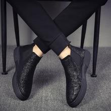 الرجال الأزياء تنفس تشيلسي أحذية لينة أحذية من الجلد الشقق منصة الكاحل botines هومبر العلامة التجارية مصمم بوتا الغمد الذكور