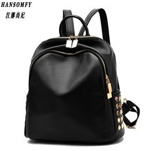 100% Genuine leather Women backpack 2019 New Backpack spring and summer new students large size Korean women bag(China)