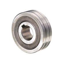 Rouleau d'alimentation de fil à souder, rainure en V, 0.6-1.6mm, roulement à billes, taille 30x10x10mm, accessoires de soudage