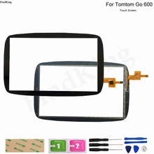 GPS Touch Screen Panel Glass For Tomtom GO 600 GO 6000 GPS Repair Replacement Part Touch Screen Digitizer Panel Sensor Adhesive