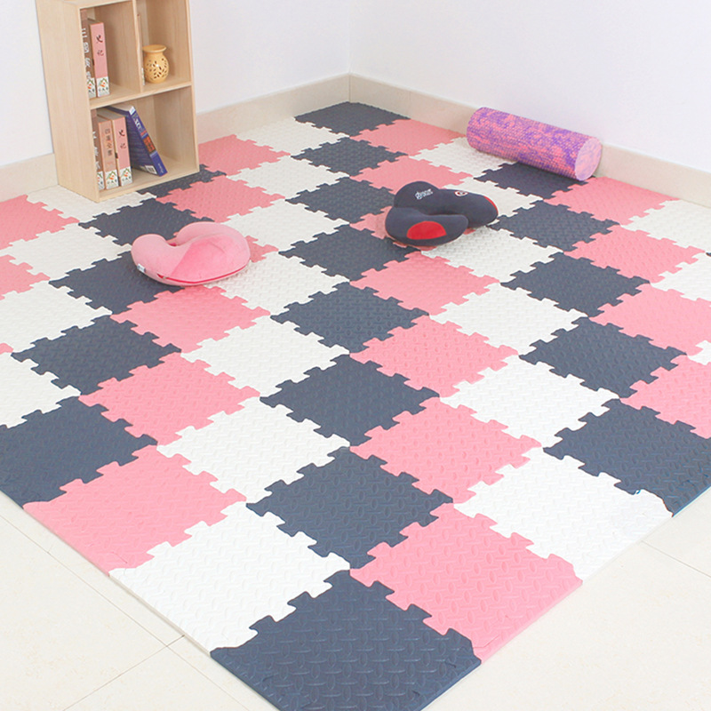 Color : Purple 30 HU Rugs Living Room Splicing Floor Mats EVA Crawling Mats For Baby Children Bedroom Bedside Splicing Carpet 30 1cm